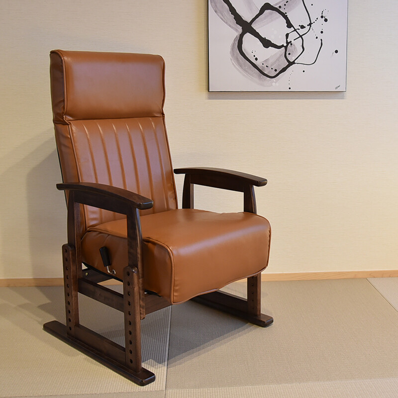 送料無料 ソイル 高座椅子 座椅子 高さ調節 7893233