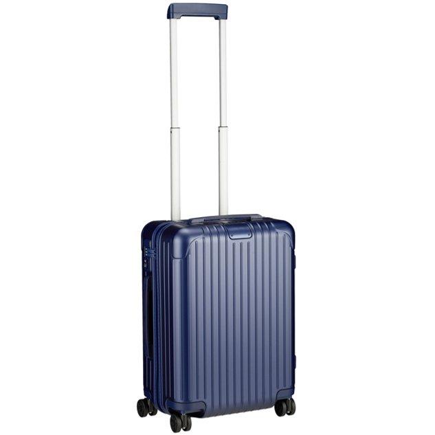 [正規品]送料無料 5年保証付き RIMOWA ESSENTIAL CABIN MATTE BLUE 37L リモワ エッセンシャルキャビン マットブルー 83253614