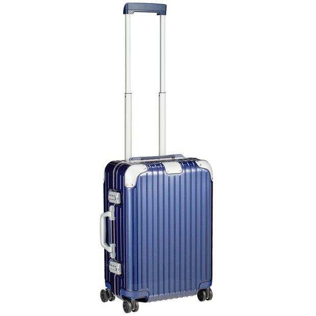 [正規品]送料無料 5年保証付き RIMOWA HYBRID CABIN S BLUE GLOSS 32L リモワ ハイブリッドキャビンS ブルーグロス 88352604