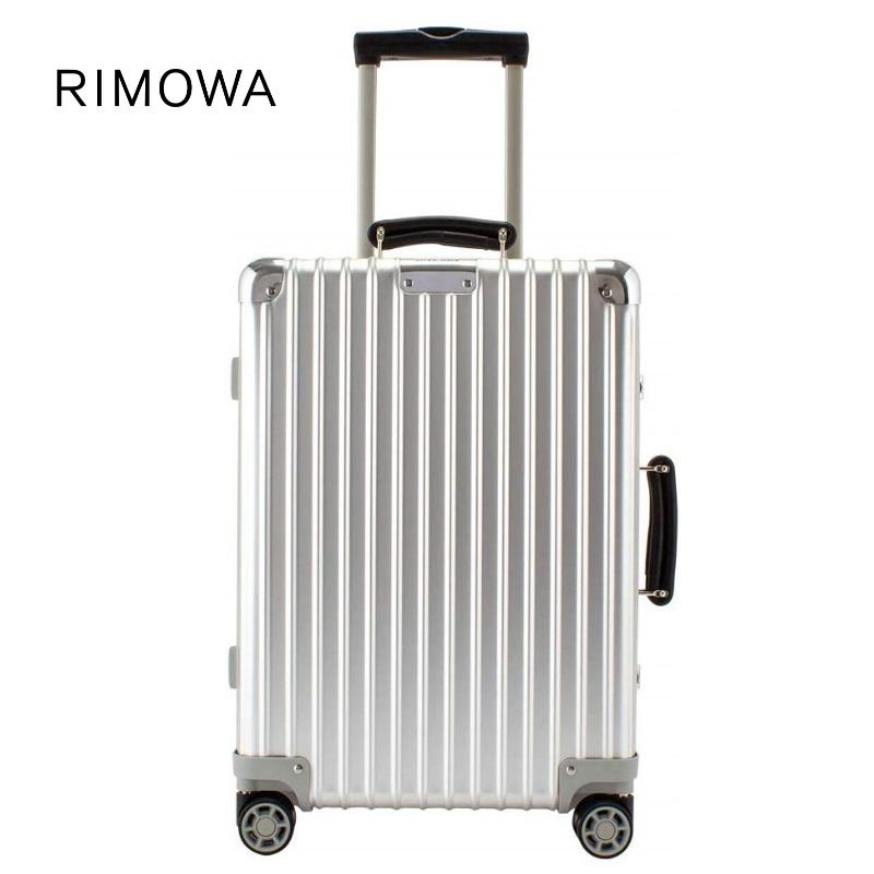 [正規品]送料無料 5年保証付き RIMOWA CLASSIC CHECK-IN M SILVER 61L リモワ クラシック チェックイン M シルバー 97263004