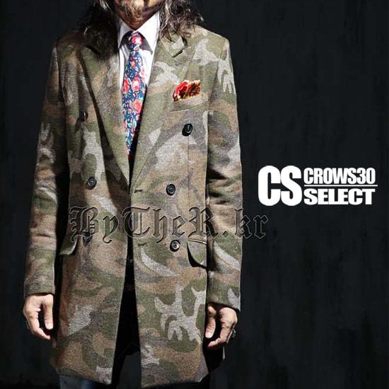 Pコート メンズ ピーコート インポート ロングコート 迷彩 カモフラ 柄 大きいサイズ XL XXLサイズ 秋冬 新作 30代 40代 個性的 大人