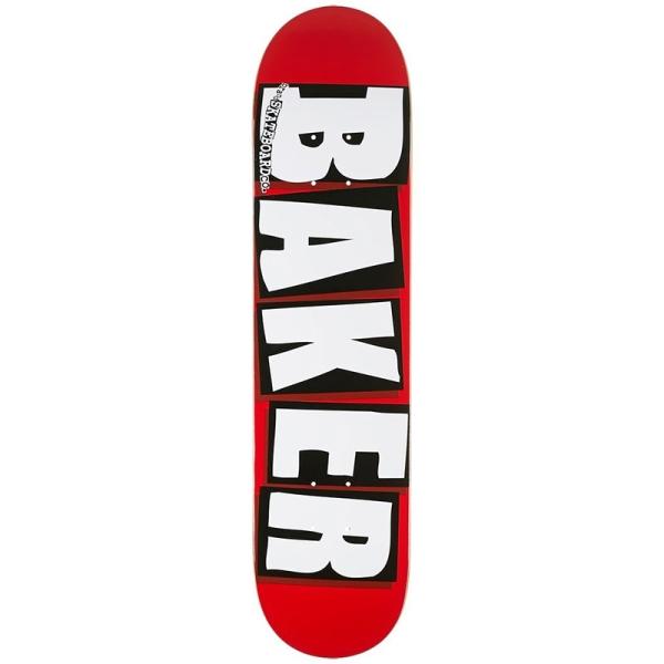 ベーカー BAKER/BRAND LOGO WHITE 8.0 デッキ