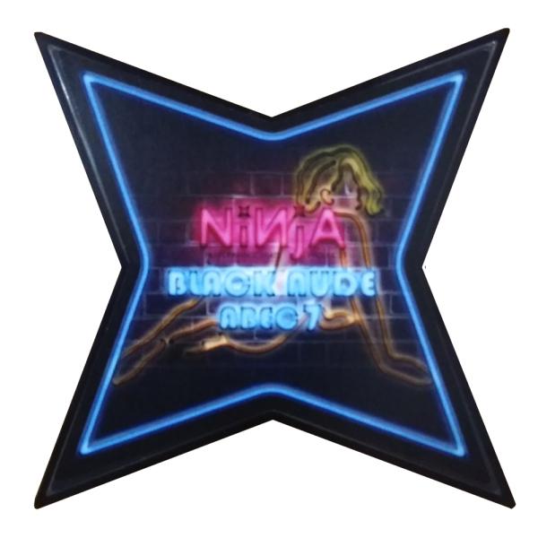 スケートボード ベアリング ニンジャ オープニング 大放出セール NINJA NUDE 国内正規品 BLACK ABEC7