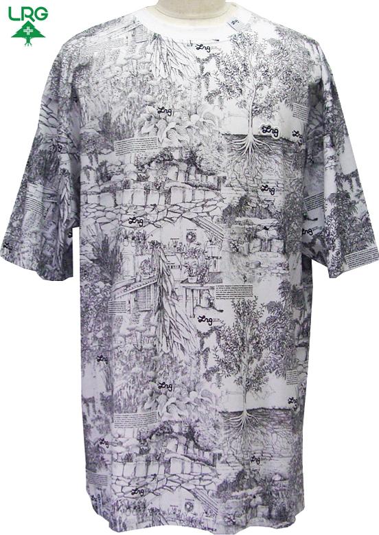 【LRG】TEEシャツ【BIGサイズ/3XL~/38インチ~】【ゆうパケット便対象商品】ストリート系 ファッション 大きいサイズ メンズ tシャツ 2L 3L 4L 5L XL XXL XXXL XXXXL キングサイズ ビックサイズ
