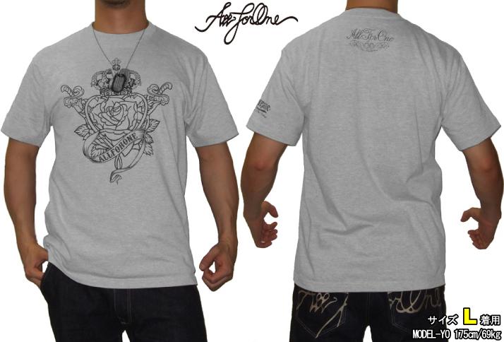 【AFO】 AFO HEART OF A PRIDE Tシャツ (グレー)【ゆうパケット便対象商品】