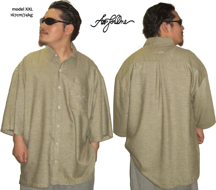 AFO Japanese traditional clothing Shirts VIP 半袖シャツ BIGサイズ3XL~ 大きいサイズ メンズ シャツ 2L 3L 4L 5L XL XXL XXXL XXXXL キングサイズ ビックサイズ
