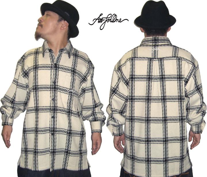AFO TWILL FLANNEL L/S SHIRTS VIP 長袖シャツ BIGサイズ3XL~ 大きいサイズ メンズ シャツ 2L 3L 4L 5L XL XXL XXXL XXXXL キングサイズ ビックサイズ