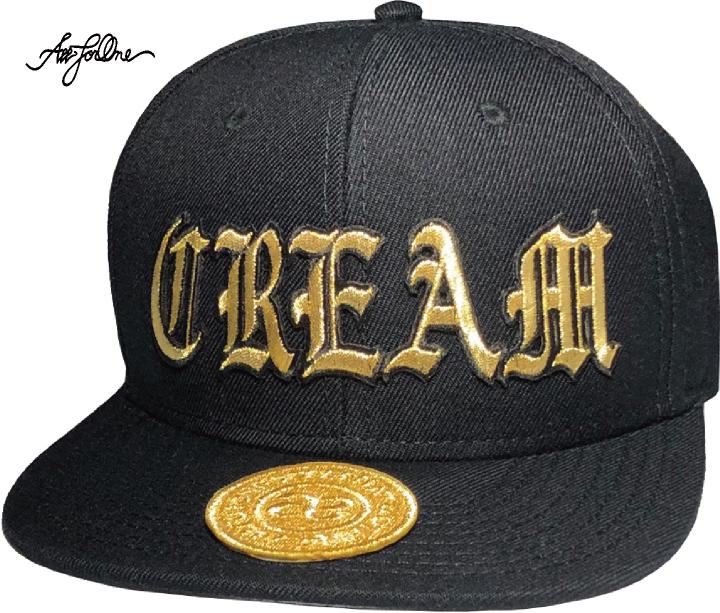 【OTTO 969】AFO C.R.E.A.M. CAP【黒】CREAM ウー ベースボール キャップ OTTO オットー NEWERA ニューエラ 野球帽 BBCAP FLEXFIT フレックスフィット CREAM WU
