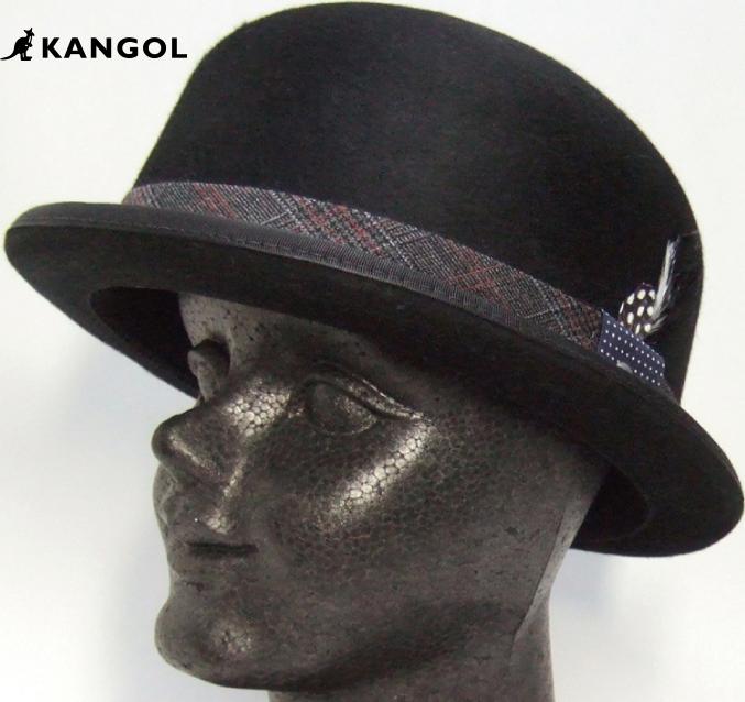 【KANGOL】 KANGOL HAT TWEED BOWLER【BLACK】