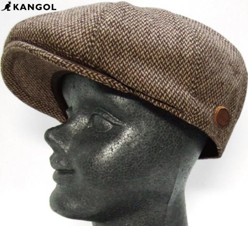 【KANGOL】 MARLED RIPLEY / マーレッド リプレイ 【ブラウン】 カンゴール ハンチング 【ゆうパケット便対象商品】