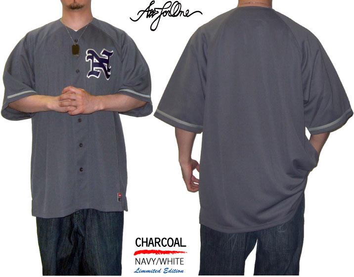 【AFO】CLASSIC BASE BALL SHIRTS / クラシック ベースボール シャツ 【4色】野球 ユニフォーム ビッグサイズ BIG SIZE