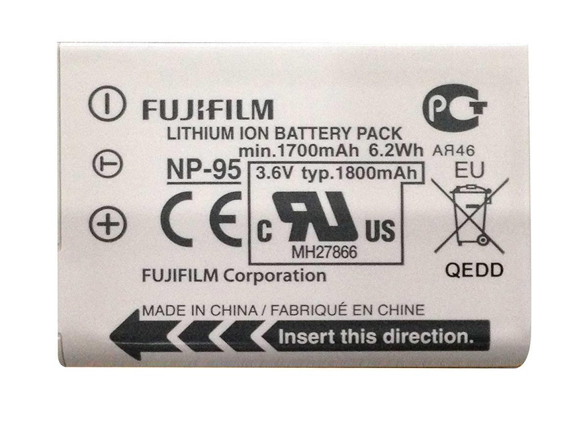 メ-ル便 FUJIFILM NP-95 バッテリー ネコポス 送料込 フジフィルム at_2531-00 特別セール品 デジタルカメラ用 NP95 純正 年間定番 富士フィルム 充電池 リチウムイオンバッテリー