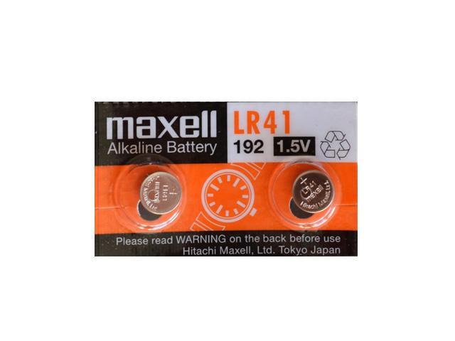 定形外郵便 ボタン電池 LR41 SR ミニレター 送料込 maxell 時計用電池 at_3342-02 LEDライト 体温計 2個 電子機器などに使いやすい2個セット 国内即発送 コイン型ボタン電池 国内送料無料