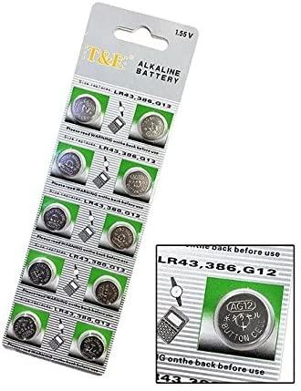 定形郵便 TE LR43 ボタン電池 SR 超人気 専門店 定形 送料込 アルカリボタン電池 メイルオーダー 電卓や時計などに 計10個 1シート お買い得 3901-10
