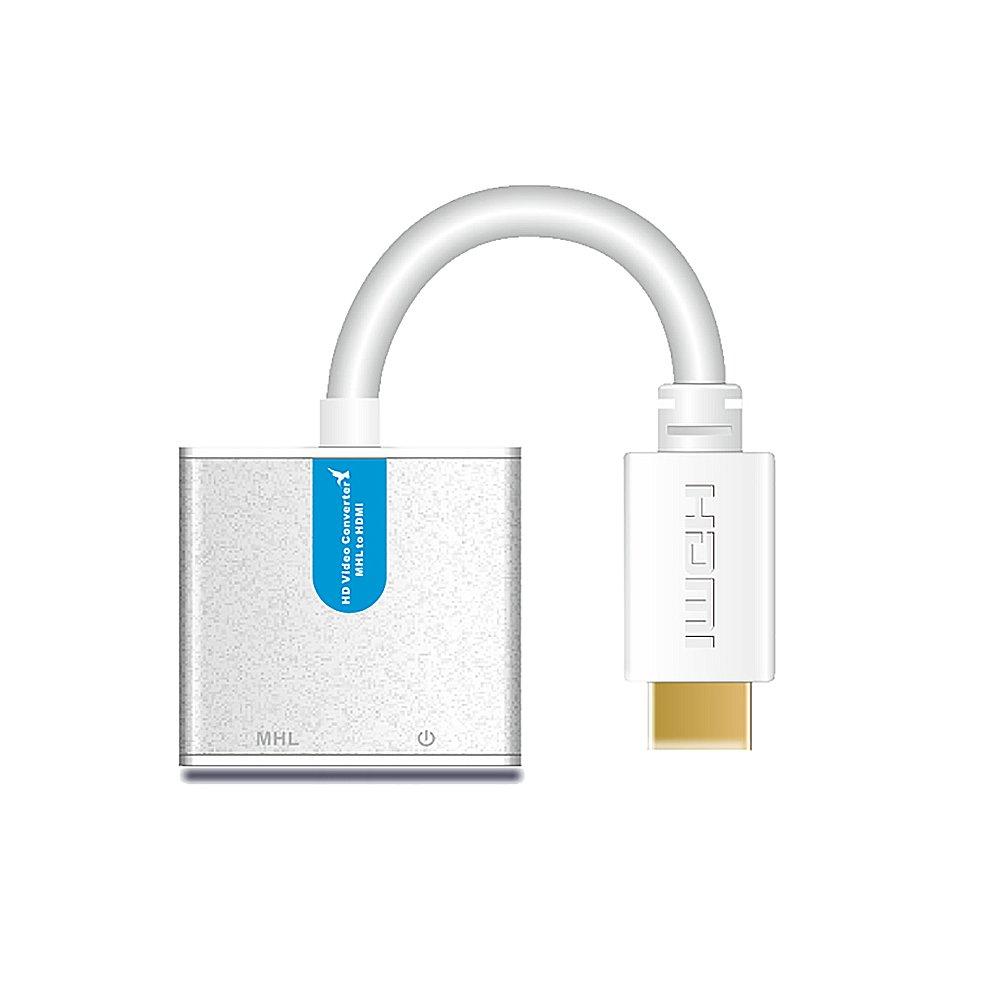 宅配便発送 microUSB からHDMIへ変換 14 送料無料 LKV556 to HDMI 在庫処分 変換 アダプター Android電話コンバータ MHLからRCP機能付きHDMI 定番スタイル コンバーター マイクロUSB 0297-00 - MHL