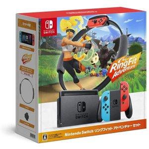 メーカー:Nintendo 発売日:2020年11月20日 任天堂 直営ストア Nintendo 商品追加値下げ在庫復活 Switch セット リングフィット HAD-S-KABGF アドベンチャー
