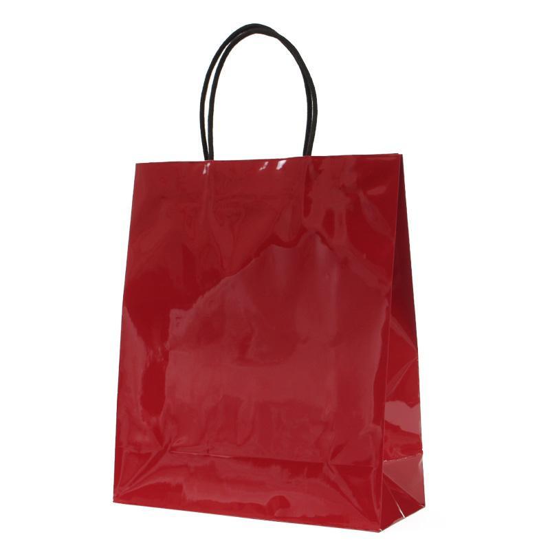 同梱不可 パックタケヤマ 手提袋 STB プリティ 舗 ローズ メーカー再生品 紙袋 10枚×10包 XZT00807