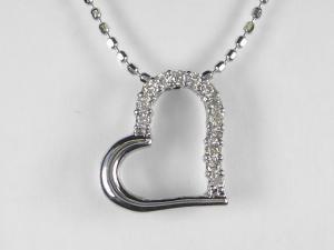 本店 運営10年の実績 全商品オープニング価格 オールジュエリー 8000点の品揃え K18WGダイヤ ネックレス10P03Dec16 ペンダント