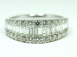 プラチナ ダイヤモンドリング 1,0CT10P03Dec16