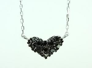 K10WGブラックダイヤブレス10P03Dec16