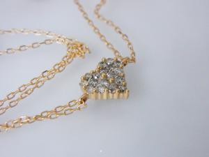 0.30CTハートのダイヤモンドハート ブレスレット(ピンクゴールド)【送料無料】10P03Dec16