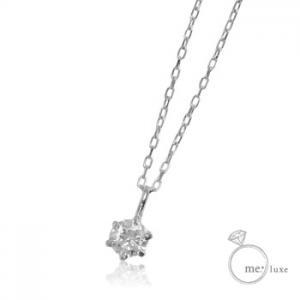 me. 天然 ダイヤモンド0.10ct/誕生石1粒石 ネックレス10P03Dec16