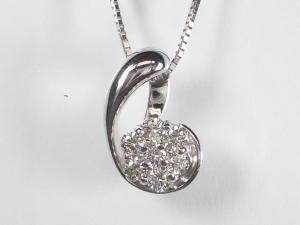 良質  K18WG ダイヤモンド ホワイトゴールド ダイヤモンド ペンダント K18WG ネックレス10P03Dec16, かばん専門ショップ Water mode:6cd69e89 --- spotlightonasia.com