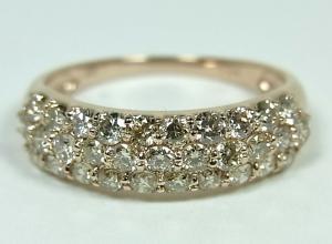 運営10年の実績 オールジュエリー 本店 8000点の品揃え K18PGダイヤモンドリング10P03Dec16 新品未使用正規品