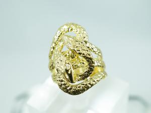 K18 ダイヤモンドR 蛇のリング10P03Dec16