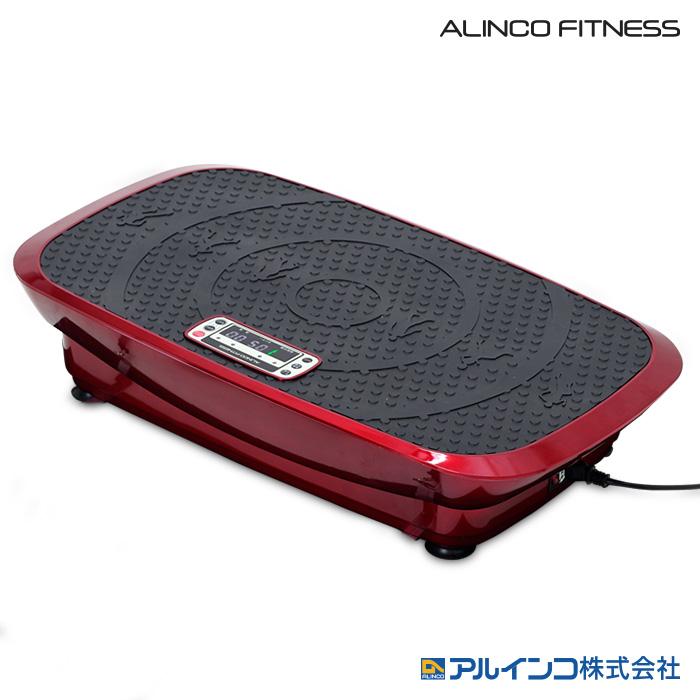 アルインコ バランスウェーブ ルージュ FAV4319R 上下、左右に微弱振動機能を追加 4D 振動マシン 下半身・インナーマッスルを鍛える ダイエット フィットネス器具 ALINCO