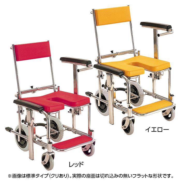 カワムラサイクル 入浴用車いす(KS-3) クリなしタイプ コンパクトサイズ 【代引き不可】
