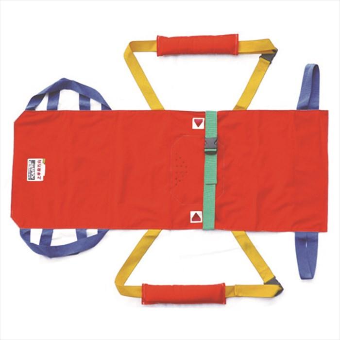 松岡 入浴担架HB-140 耐用限度100kg 寝具から浴槽まで担いで入浴ができる 防災用避難担架としても