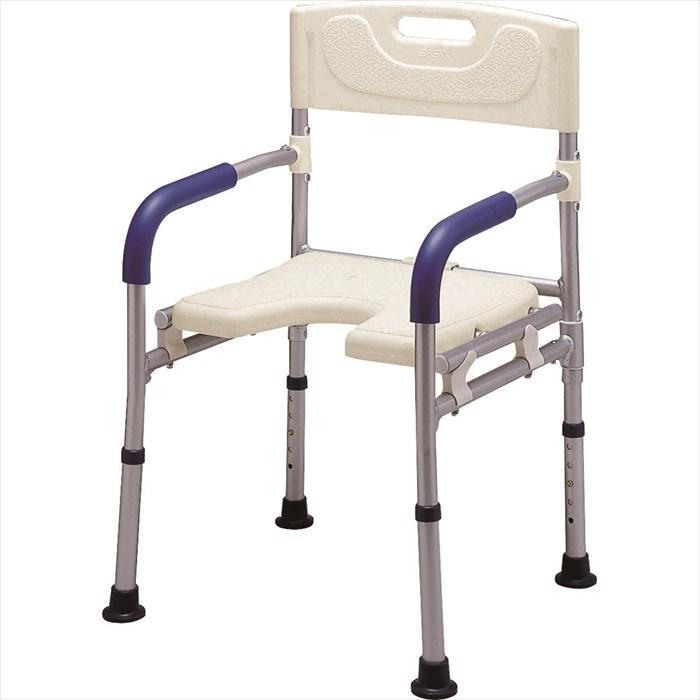 イーストアイ すま~いるコンパクト シャワーベンチFCRS お風呂 イス (椅子)