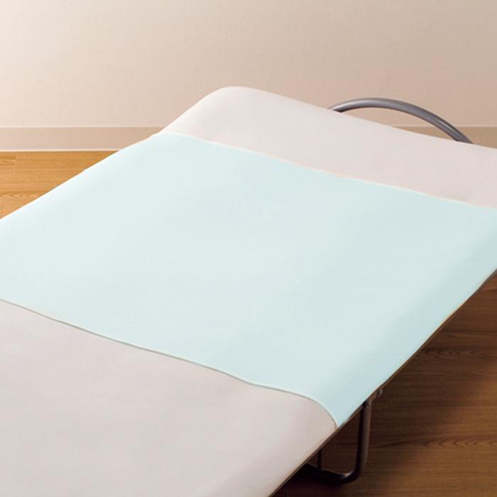 伸縮性にすぐれたしわになりにくいシーツです 豊通マテックス あんしん防水シーツ レギュラー S サックス 新作多数 ブルー ベッドシーツ 定価の67%OFF 幅90cmx縦145cm 乾燥機OK 老人 高齢者 介護ベッド