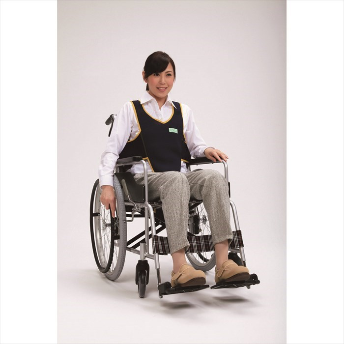 フットマーク 車いす用ワンタッチベルトキーパー エコ デポー 403657 ポリエステル100% メッシュ 車椅子での姿勢保持 定番から日本未入荷