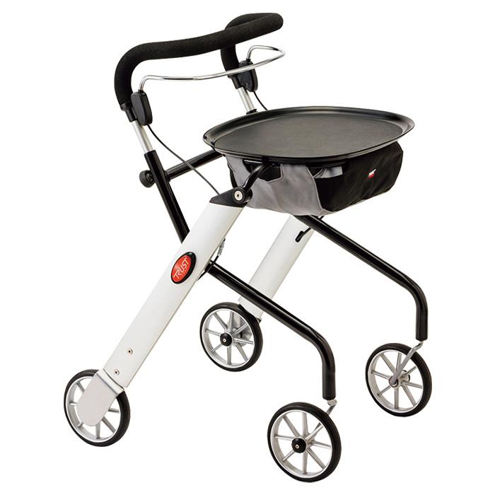 竹虎 レッツゴーミニ シルバー 歩行車 歩行器
