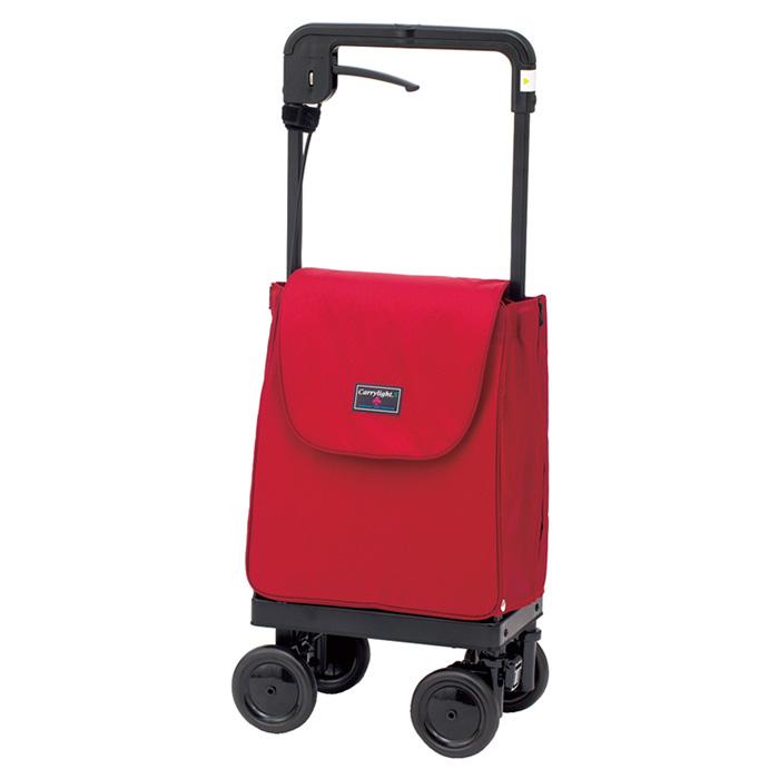 ウィズワン キャリーライトSN ワイン ショッピングカート シルバーカー 4輪