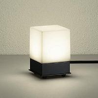 ☆DAIKO LED照明器具 アウトドア アプローチ灯 白熱灯60Wタイプ 電球色 LED内蔵 差込プラグ付 防雨形 本体色:黒 据置専用 DWP36928