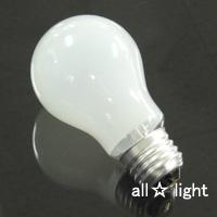 ☆アサヒ 一般球(一般電球) 長寿命タイプ ホワイト 100V 20W形 E26口金 ロング LW100V-19W/55LL