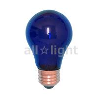 【7700円以上で送料無料】 アサヒ 耐熱透明カラー 一般球(カラー電球) E26口金 60W ブルー(青色)  PS60 E26 110V-60W(BT)