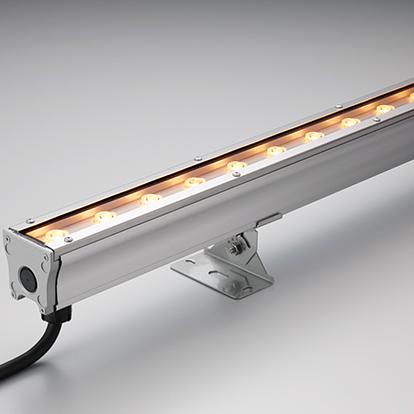☆ 訳ありセール DNライティング 屋外用ハイパワー型LED間接照明器具 屋外用Seamless type照明器具 集光タイプ ナロー配光タイプ 光源一体型・直流電源値内臓 電球色 3000K HO2LEDN1212FL30S13