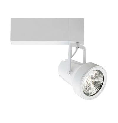 ☆MAXRAY 配線ダクトレール用 LEDスポットライト ホワイト HID70W相当 (LED内臓・電源装置内臓) 中角 温白色 3500K MS103018095 ≪特別限定セール!≫