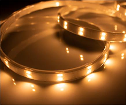 TES LIGHTING フレキシブル照明 防水型テープライト Tape Light TRP-924シリーズ IP65 全長:4965mm 2200K 電球色 TRP92422165 ※受注生産品