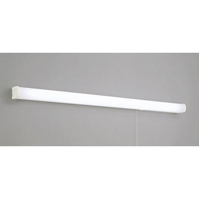 ☆ODELIC LEDキッチンライト 手元灯 FL40W相当 昼白色 消費電力16W 壁面取付専用 100V用 スイッチ付き コンセント付 OB255104