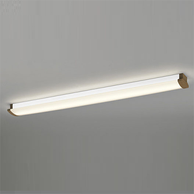 ☆ODELIC LEDキッチンライト Hf32W定格出力×1灯クラス 電球色 消費電力17.8W 壁面・天井面・傾斜面取付兼用 100V~242V用 木調ウォールナット色 OL291031P3F