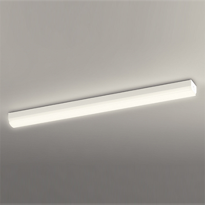 ☆ODELIC LEDキッチンライト Hf32W定格出力×2灯相当 電球色 クイック取付け 消費電力27.8W 100V用 LED一体型 OL291359
