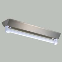 ☆三菱 逆富士直管形LED照明器具 防雨・防湿タイプ ステンレス製 MILIE(ミライエ) Lファインeco FLR20形×1 100~242V 白色 1200lm×1 固定出力形(ランプ付) ELLEV2041AHJ+LDL20TW1012G3