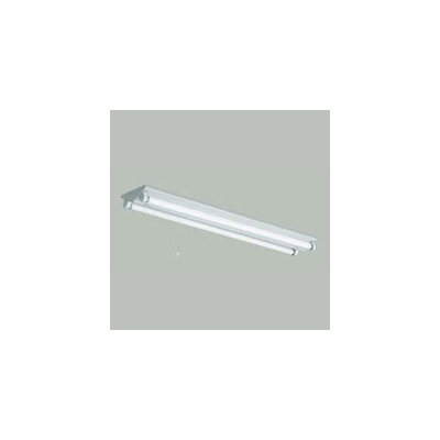 ☆三菱 逆富士直管形LED照明器具 プルスイッチ付 MILIE(ミライエ) Lファインeco FHF32形×2 100~242V 昼光色 高出力3600lm×2 連続調光形初期照度補正機能付 (ランプ付) ELLKV4342BAHX+LDL40SD2436N4