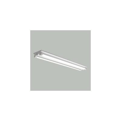 ☆三菱 逆富士直管形LED照明器具 MILIE(ミライエ) Lファインeco FLR40形×2 100~242V 白色 定格出力2300lm×2 連続調光形 初期照度補正機能付 (ランプ付) ELLKV4382BAHX+LDL40SW1723N4