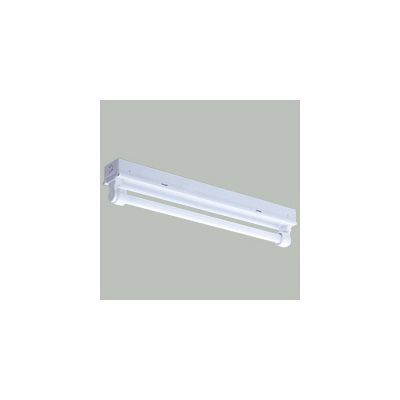 ☆三菱 トラフ型直管形LED照明器具 防雨・防湿タイプ MILIE(ミライエ) Lファインeco FLR20形×1 100~242V 白色 1200lm×1 固定出力形(ランプ付) ELLWK2081AHJ+LDL20TN1012G3
